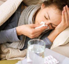 ΚΕΕΛΠΝΟ για γρίπη: 127 οι νεκροί - Πέντε θάνατοι μόνο την τελευταία εβδομάδα  - Κυρίως Φωτογραφία - Gallery - Video
