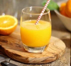 Μεγάλη έρευνα: Με ένα ποτήρι χυμό πορτοκάλι κάθε ημέρα μειώνετε τον κίνδυνο για εγκεφαλικό & καρδιακό επεισόδιο - Κυρίως Φωτογραφία - Gallery - Video