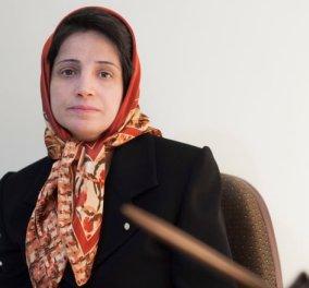 Γιατί το Ιράν φυλάκισε και έριξε 148 βουρδουλιές στη δικηγόρο Νασρίν Σοτουντέχ - Ποια είναι τα εκγλήματα της;  - Κυρίως Φωτογραφία - Gallery - Video