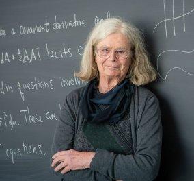 Κάρεν Ουλένμπεκ: Η πρώτη γυναίκα που πήρε το βραβείο Abel των Μαθηματικών (φώτο) - Κυρίως Φωτογραφία - Gallery - Video