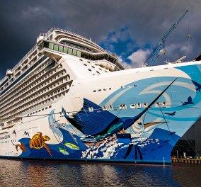 Η κρουαζιέρα του τρόμου: Φωτο & βίντεο από το πλοίο της ... Αγάπης - Έγινε έρμαιο των σφοδρών ανέμων στο πέλαγος  - Κυρίως Φωτογραφία - Gallery - Video