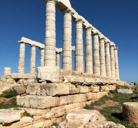 Το eirinika βγήκε στον Ανοιξιάτικο ήλιο και φωτογράφισε το συγκλονιστικό ναό του Ποσειδώνα στο Σούνιο  - Κυρίως Φωτογραφία - Gallery - Video