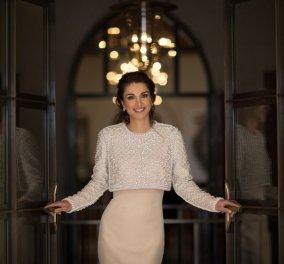 Πως γιόρτασε η βασίλισσα Ράνια της Ιορδανίας την ημέρα της γυναίκας (φώτο) - Κυρίως Φωτογραφία - Gallery - Video