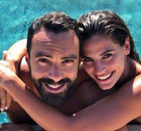 Πω-πω αγαπούλες! Η Χριστίνα Μπόμπα και ο Σάκης της ζουν τον γαμήλιο έρωτα τους στον Άγιο Δομίνικο (φώτο)  - Κυρίως Φωτογραφία - Gallery - Video