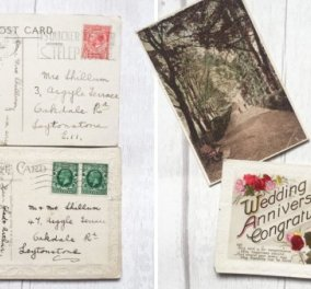 Story of the day: Ανακάλυψε στο eBay καρτ-ποστάλ που είχαν σταλεί στους παππούδες της το 1936 (φωτό)  - Κυρίως Φωτογραφία - Gallery - Video