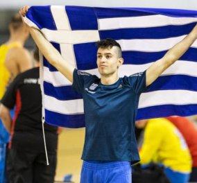 """Στην κορυφή της Ευρώπης ο Τέντογλου: Σήκωσε το """" χρυσό"""" - """"Το αφιερώνω σε όλη την Ελλάδα"""" (βίντεο) - Κυρίως Φωτογραφία - Gallery - Video"""