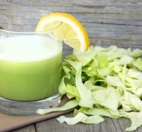 Αυτός ο σπιτικός χυμός από λάχανο ίσως είναι το όπλο για την καταπολέμηση του έλκους, της παχυσαρκίας, της κολίτιδας - Κυρίως Φωτογραφία - Gallery - Video