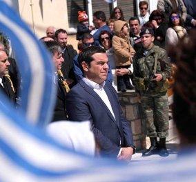 """Τουρκικά μαχητικά παρενόχλησαν το ελικόπτερο που επέβαινε ο Αλέξης Τσίπρας - Το """"ισχυρό"""" μήνυμα του Πρωθυπουργού    - Κυρίως Φωτογραφία - Gallery - Video"""