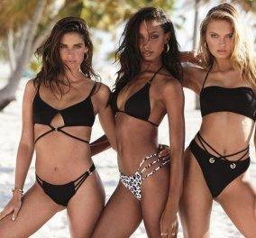 """Τα μανεκέν της Victoria's Secret παρουσιάζουν τα μαγιό του καλοκαιριού & είναι """"κανόνια"""" (φώτο) - Κυρίως Φωτογραφία - Gallery - Video"""