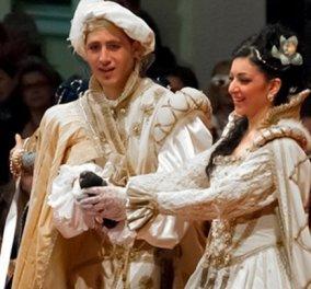 Ζάκυνθος: Το έθιμο του βενετσιάνικου γάμου αναπόσπαστο κομμάτι του καρναβαλιού - Κυρίως Φωτογραφία - Gallery - Video