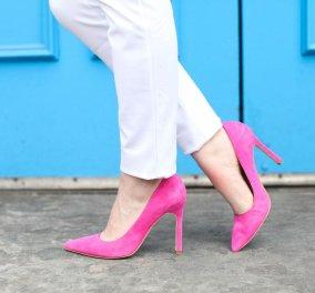 Το eirinika μπήκε στο Σκρουτζ & βρήκε ροζ ψηλές γόβες από 9,99 ευρώ - Ορίστε η λύση οικονομική αν ζηλέψατε της κυρίας Νοτοπούλου (φώτο) - Κυρίως Φωτογραφία - Gallery - Video
