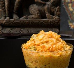 Ο Στέλιος Παρλιάρος σε ένα ινδικό γλυκό: Απολαύστε υπέροχο χαλβάς από καρότο! - Κυρίως Φωτογραφία - Gallery - Video