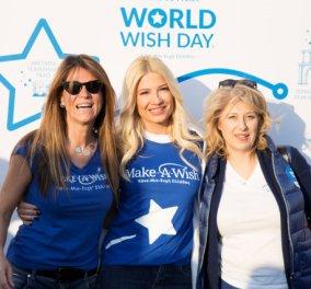 Στα μπλε ντύθηκε το κέντρο της Αθήνας για τον εορτασμό της Παγκόσμιας Ημέρας Ευχής - Περισσότεροι από 1200 συμμετέχοντες στον πιο γλυκό περίπατο - Κυρίως Φωτογραφία - Gallery - Video