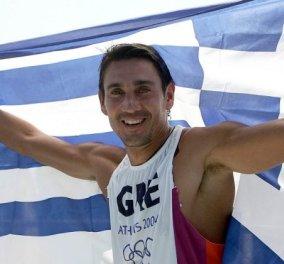 Σοβαρό ατύχημα είχε ο ολυμπιονίκης μας Νίκος Κακλαμανάκης βγαίνοντας χθες με πολύ δυνατό άνεμο στη θάλασσα - Κυρίως Φωτογραφία - Gallery - Video