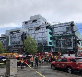 Τραγικό δυστύχημα σε κτήριο της Google στο Σιάτλ: Γερανός καταπλάκωσε & σκότωσε 4 ανθρώπους (φώτο- βίντεο) - Κυρίως Φωτογραφία - Gallery - Video