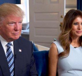 Ο έρως χρόνια γάμου δεν κοιτά - Στάζουν μέλι οι ευχές του Ντόναλντ Τραμπ στη Μελάνια  - Κυρίως Φωτογραφία - Gallery - Video