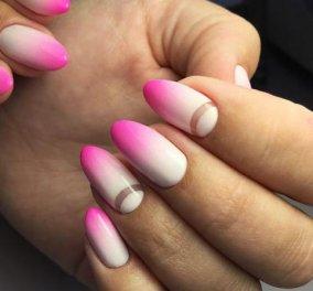 Υπέροχο Ανοιξιάτικο μανικιούρ 2019 - 25+ προτάσεις για νύχια σε άσπρο - ρόζ! Φώτο  - Κυρίως Φωτογραφία - Gallery - Video