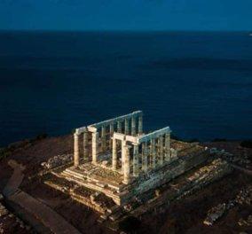 Όταν ο πολιτισμός συναντά τα στοιχεία της φύσης… Ο ναός του Ποσειδώνα δίπλα στην αγαπημένη του θάλασσα – Καταπληκτική η φωτογραφία της ημέρας! - Κυρίως Φωτογραφία - Gallery - Video