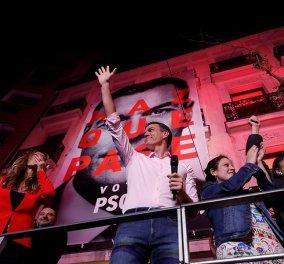 Νίκη των Σοσιαλιστών στην Ισπανία – Ήττα για το Λαϊκό Κόμμα - Κυρίως Φωτογραφία - Gallery - Video