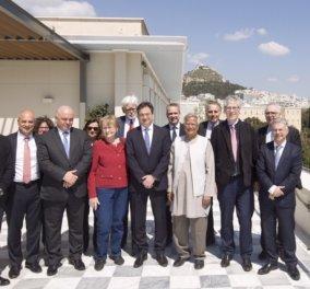 Συνάντηση της διοίκησης της Eurobank με τον νομπελίστα καθηγητή Muhammad Yunus - Κυρίως Φωτογραφία - Gallery - Video