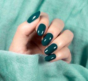 50 ιδέες για πράσινα νύχια, τόσο στην μόδα: Κυπαρισσί, φιστικί μέχρι το χρώμα της μέντας - Κυρίως Φωτογραφία - Gallery - Video