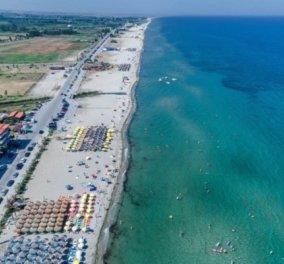 Παραλία Κατερίνης: Εναέρια βόλτα στα πιο συναρπαστικά «μυστικά» της Μακεδονίας - Κυρίως Φωτογραφία - Gallery - Video