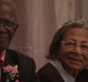 Εκείνος 103 - εκείνη 100: Παντρεμένοι 82 χρόνια - Το γιόρτασαν δίνοντας & συμβουλές (φώτο-βίντεο) - Κυρίως Φωτογραφία - Gallery - Video