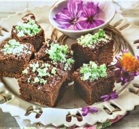 Η  Αργυρώ Μπαρμπαρίγου φτιάχνει υπέροχα brownies με τα σοκολατένια αυγά που περίσσεψαν  - Κυρίως Φωτογραφία - Gallery - Video