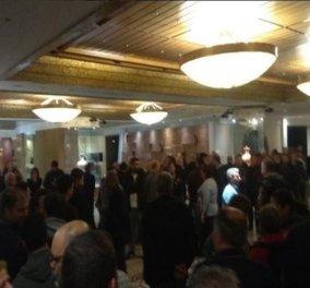 Άγρια επεισόδια στο συνέδριο της ΓΣΕΕ στη Ρόδο – Καταγγελίες για τέσσερις τραυματίες - Κυρίως Φωτογραφία - Gallery - Video
