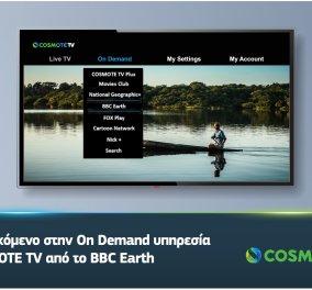 COSMOTE TV: Δείτε τα δημοφιλή ντοκιμαντέρ του BBC Earth On Demand  - Κυρίως Φωτογραφία - Gallery - Video