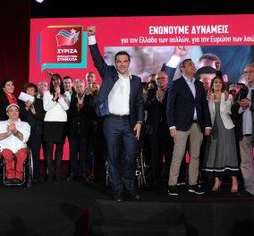 """Αλ. Τσίπρας: """"Στη """"Dream Team"""" στο ευρωψηφοδέλτιο μας καθρεφτίζεται η Ελλάδα της νέας εποχής"""" (φώτο-βίντεο) - Κυρίως Φωτογραφία - Gallery - Video"""