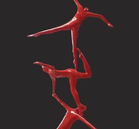 Το χρώμα της αγάπης σήμερα από τον συγκλονιστικό κόκκινο κόσμο του Κωστή Γεωργίου (φώτο) - Κυρίως Φωτογραφία - Gallery - Video