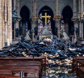 Έφθασαν το 1 δις. οι δωρεές για την ανέγερση της Παναγίας των Παρισίων - Κυρίως Φωτογραφία - Gallery - Video