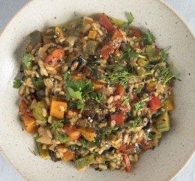 Ο Άκης Πετρετζίκης δημιουργεί φανταστικό νηστίσιμο ριζότο λαχανικών – Μια άκρως καλοκαιρινή συνταγή! (βίντεο) - Κυρίως Φωτογραφία - Gallery - Video