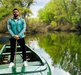 Κωνσταντίνος Βασάλος: Η εκπληκτική φωτό μέσα στο πράσινο της φύσης – Πήρε πράσινη καρδιά από την Ευρυδίκη του! - Κυρίως Φωτογραφία - Gallery - Video