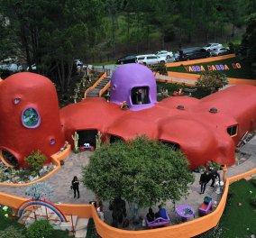 «Λουκέτο» στο εντυπωσιακό «σπίτι των Φλίνστοουνς» στην Καλιφόρνια - Λειτουργούσε χωρίς τη σχετική άδεια - Κυρίως Φωτογραφία - Gallery - Video