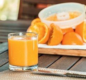 Νέα έρευνα: Ο φυσικός χυμός πορτοκαλιού μειώνει τον κίνδυνο εμφάνισης άνοιας στο 50%! - Κυρίως Φωτογραφία - Gallery - Video