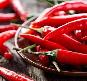 Καυτερές πιπεριές & διατροφή: Έχουν αντικαρκινικές ιδιότητες, καταπολεμούν τη φλεγμονή & ανακουφίζουν τον πόνο  - Κυρίως Φωτογραφία - Gallery - Video