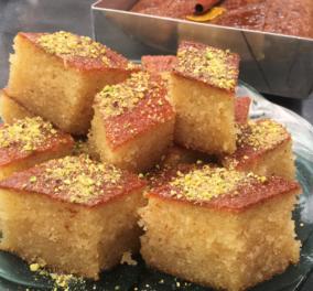 Αργυρώ Μπαρμπαρίγου: Σάμαλι με μαστίχα, ένα από τα πιο ωραία σιροπιαστά γλυκά - Δοκιμάστε το και θα μας θυμηθείτε! - Κυρίως Φωτογραφία - Gallery - Video
