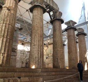 """Το eirinika """"προσκύνησε"""" στο ναό του Επικούριου Απόλλωνα- έργο του Ικτίνου - Αρχιτέκτονα του Παρθενώνα - Αποκλειστικές Φωτό & βίντεο   - Κυρίως Φωτογραφία - Gallery - Video"""