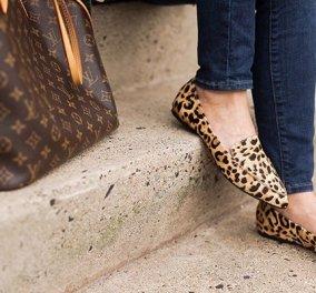 40 προτάσεις για να συνδυάσετε τα αγαπημένα σας λεοπάρ παπούτσια με κάθε στυλ - Κυρίως Φωτογραφία - Gallery - Video