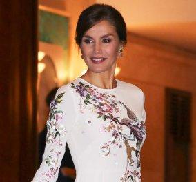 Βασίλισσα Λετίσια:  Δεν μπορείτε να φανταστείτε πόσο κοστίζει η φούστα που φόρεσε -  Την έχει βάλει & στο παρελθόν - Κυρίως Φωτογραφία - Gallery - Video