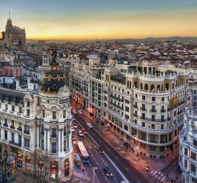 Timelapse βίντεο: Από το Μουσείο Prado στο Βασιλικό Παλάτι κι από την Plaza Colon στο Warner Park! Εξερευνήστε τη Μαδρίτη μέσα σε 6'! - Κυρίως Φωτογραφία - Gallery - Video