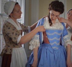 Απίθανο βίντεο αποκαλύπτει τον ...άπειρο χρόνο που ήθελαν οι γυναίκες για να ντυθούν τον 18ο αιώνα    - Κυρίως Φωτογραφία - Gallery - Video