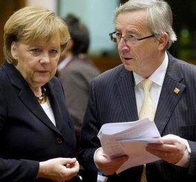 Γιούνκερ για Μέρκελ: Να βοηθήσει την Ευρώπη από άλλο πόστο - Έχει εξαιρετικά προσόντα! - Κυρίως Φωτογραφία - Gallery - Video