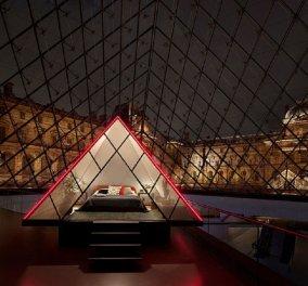 Εμπειρία ζωής: Η Airbnb δίνει δώρο δύο διανυκτερεύσεις μέσα στη γυάλινη πυραμίδα του Λούβρου & ιδιωτική ξενάγηση δωρεάν! (φώτο-βίντεο) - Κυρίως Φωτογραφία - Gallery - Video