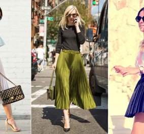 Πώς να φορέσεις την αγαπημένη σου πλισέ φούστα – 30 τέλειοι συνδυασμοί - Κυρίως Φωτογραφία - Gallery - Video