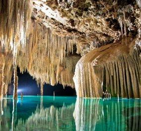 Ανακαλύψτε τον πανέμορφο Rio Secreto - Ο μυστικός υπόγειος ποταμός του Μεξικούανακαλύφθηκε μόλις το 2007! (βίντεο) - Κυρίως Φωτογραφία - Gallery - Video