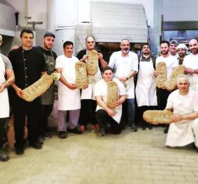 Η Ντίνα Νικολάου μας συστήνει τον Δημήτρη Νικολιδάκη & μας ξεναγεί στον πιο νόστιμο φούρνο της Κρήτης (φώτο) - Κυρίως Φωτογραφία - Gallery - Video