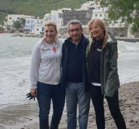 Η Μαρέβα Μητσοτάκη με τους γιατρούς και τα παιδιά της Axion Hellas - Στηρίζουν τα ακριτικά νησιά (φώτο) - Κυρίως Φωτογραφία - Gallery - Video